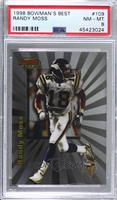 Randy Moss [PSA 8 NM‑MT]