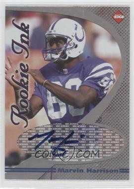 1998 Collector's Edge 1st Place - Rookie Ink #MAHA - Marvin Harrison