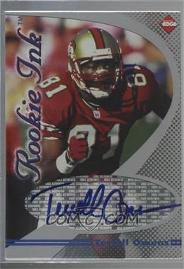 best loved a1acb 2c67a 1998 Collector's Edge 1st Place - Rookie Ink #TEOW - Terrell ...