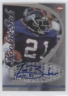 1998 Collector's Edge 1st Place - Rookie Ink #TIBA - Tiki Barber