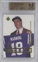 Peyton Manning (Holding jersey) [BGS9.5]