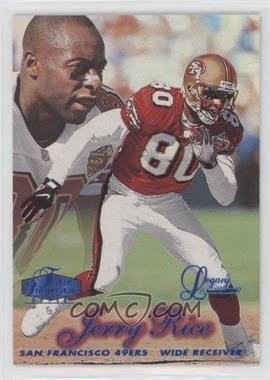 1998 Flair Showcase - [Base] - Legacy Collection Row 2 No Name on Back #6 - Jerry Rice /100
