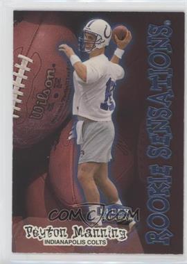 1998 Fleer Tradition - Rookie Sensations #9RS - Peyton Manning
