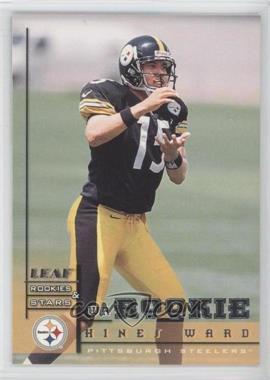 1998 Leaf Rookies & Stars - [Base] #202 - Hines Ward