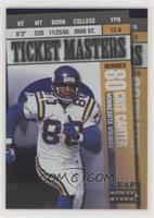 Randy Moss, Cris Carter [GoodtoVG‑EX] #/2,500