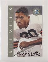 Bill Willis [NoneNoted] #/2,500