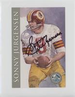 Sonny Jurgensen [NoneNoted] #/2,500