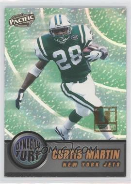 1998 Pacific - Dynagon Turf - Titanium #12 - Curtis Martin /99