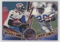Warrick Dunn, Barry Sanders