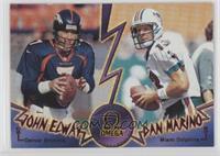 Dan Marino, John Elway