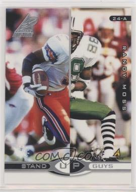 1998 Pinnacle Inside - Stand Up Guys - Promo #24-AB - Randy Moss, Kevin Dyson (Germaine Crowell, Jacquez Green)
