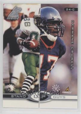 1998 Pinnacle Inside - Stand Up Guys - Promo #24-CD - Germane Crowell, Jacquez Green (Randy Moss, Kevin Dyson)