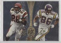 Corey Dillon, Jake Reed, Curtis Martin, Bobby Hoying