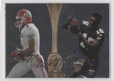1998 Playoff Absolute Retail - Platinum Quads #16 - Kevin Dyson, Randy Moss, Marcus Nash, Jerome Pathon