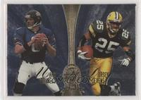 Dorsey Levens, Carl Pickens, Mark Brunell, Rob Moore