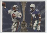 Drew Bledsoe, Joey Galloway, Tim Brown, Fred Lane