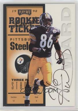 1998 Playoff Contenders - [Base] #94 - Hines Ward