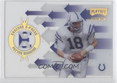 1998 Playoff Momentum Retail - Endzone X-Press #R11 - Peyton Manning