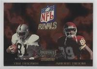 Tim Brown, Andre Rison