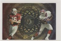 Jake Plummer, Antowain Smith, Warrick Dunn, Corey Dillon [Good to VG&…