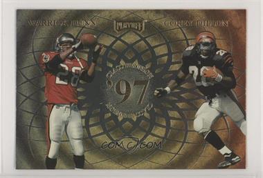 1998 Playoff Momentum SSD - Class Reunion Quads - Jumbo #PSDD - Jake Plummer, Antowain Smith, Warrick Dunn, Corey Dillon