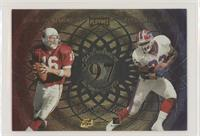 Jake Plummer, Antowain Smith, Warrick Dunn, Corey Dillon
