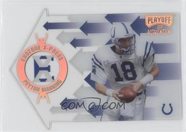 1998 Playoff Momentum SSD - Endzone X-Press - Die-Cut #11 - Peyton Manning