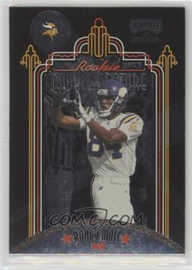 1998 Playoff Momentum SSD - Rookie Double Feature #8 - Randy Moss, Tim Dwight