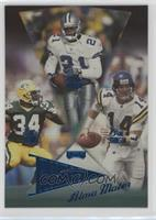 Deion Sanders, Edgar Bennett, Brad Johnson