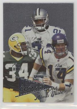 1998 Playoff Prestige - Alma Maters #4 - Deion Sanders, Edgar Bennett, Brad Johnson