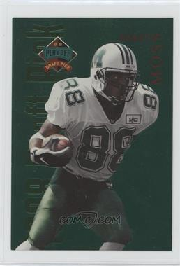 1998 Playoff Prestige - Draft Picks - Jumbo Green #9 - Randy Moss