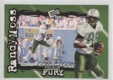 1998 Press Pass - Fields of Fury #FF4 - Randy Moss