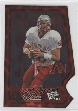 1998 Press Pass - Triple Threat #TT4 - Ryan Leaf