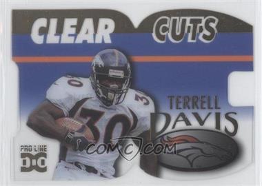 1998 Pro Line DC III - Clear Cuts #CLC3 - Terrell Davis /500