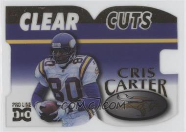 1998 Pro Line DC III - Clear Cuts #CLC5 - Cris Carter /500