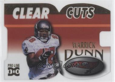 1998 Pro Line DC III - Clear Cuts #CLC8 - Warrick Dunn /500