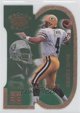 1998 Pro Line DC III - Decade Draft #DD3 - Brett Favre, Russell Maryland