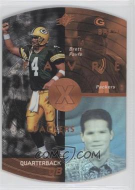 1998 SPx - [Base] - Bronze #18 - Brett Favre