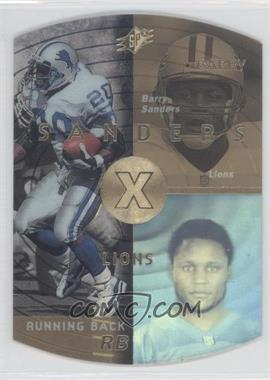 1998 SPx - [Base] - Gold #17 - Barry Sanders