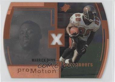 1998 SPx - ProMotion #P9 - Warrick Dunn