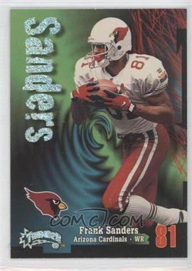 1998 Skybox Thunder - [Base] - Rave #186 - Frank Sanders /150