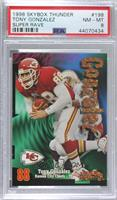Tony Gonzalez [PSA 8 NM‑MT] #/25