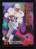 Deion Sanders [Noted] #/25