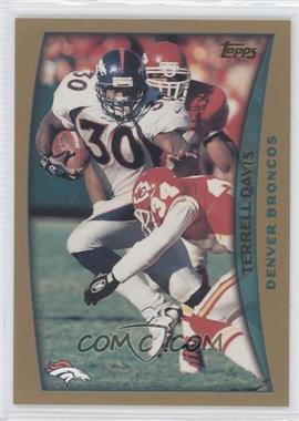 1998 Topps - Pre-Production #PP4 - Terrell Davis