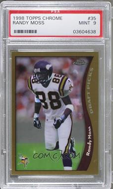 1998 Topps Chrome - [Base] #35 - Randy Moss