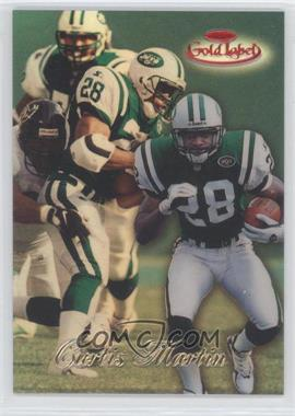 1998 Topps Gold Label - [Base] - Class 1 Red Label #71 - Curtis Martin /100