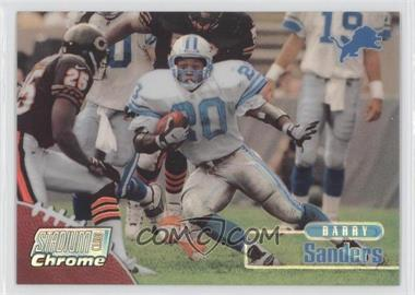 1998 Topps Stadium Club - Chrome - Refractor #SCC10 - Barry Sanders