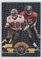 Warrick Dunn, Jacquez Green