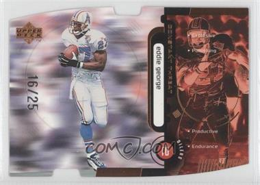 1998 Upper Deck - Constant Threat - Bronze Die-Cut #CT27 - Eddie George /25