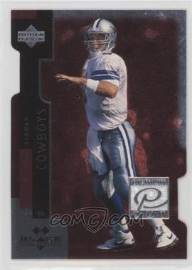 1998 Upper Deck Black Diamond - Premium Cut - Double Diamond #PC2 - Troy Aikman